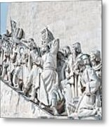 Discovery Monument Lisbon Portugal Metal Print