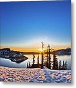 Discovery Point Sunrise Metal Print