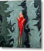 Disney Flower Metal Print by Barry Shaffer