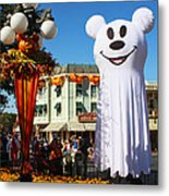 Disneyland Halloween 1 Metal Print