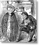 Disraeli Cartoon, 1876 Metal Print