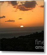 Distant Sunset Metal Print
