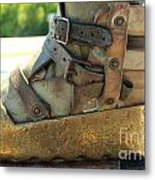 Divers Boot Metal Print