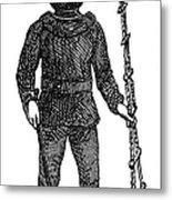 Diving Suit, 1855 Metal Print