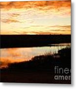 Dixon Reservoir Sunrise Metal Print