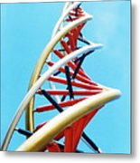 Dna Sculpture Metal Print