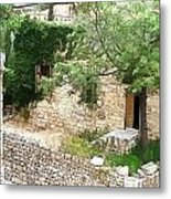 Do-00486 Old House From Citadel Metal Print