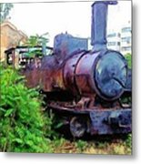 Do-00504 Train In Mar Mickael Metal Print