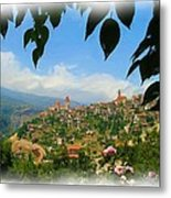 Do-00547 Town Of Bcharre Metal Print