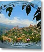 Do-00548 Town Of Bcharre Metal Print
