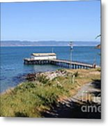 Dock At Point Reyes Calfornia . 7d16069 Metal Print