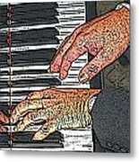 Docs Fingers Metal Print