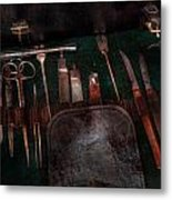 Doctor - Civil War Instruments Metal Print