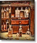 Doctor - The Medicine Cabinet Metal Print