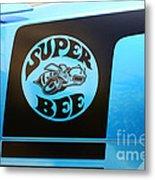 Dodge Charge Super Bee Logo  Metal Print