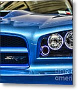 Dodge Charger Front Metal Print