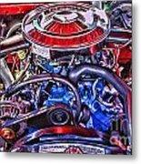 Dodge Motor Hdr Metal Print