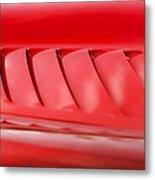 Dodge Viper Hood Gills Metal Print