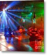 Dodgems Metal Print