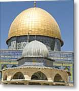 Dome Of The Rock Was Erected Metal Print