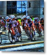 Dominguez Hill Bikes Metal Print