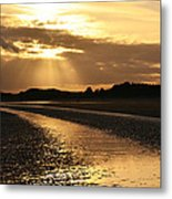 Donabate Beach Metal Print