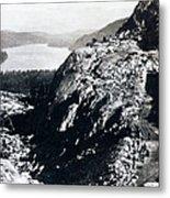 Donner Lake From Summit - California - C 1865 Metal Print