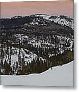 Donner Panoramic Metal Print