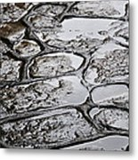 Don't Step On The Cracks Metal Print