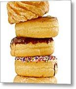 Donuts Metal Print by Elena Elisseeva