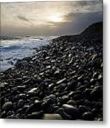 Doolin, County Clare, Ireland Pebble Metal Print