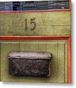 Door 15 Metal Print