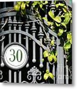Door 30 Metal Print