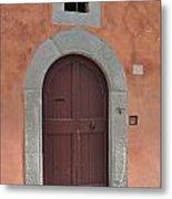 Door A1 Metal Print