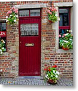 Door And Windows Metal Print