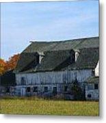 Door County Barn Metal Print