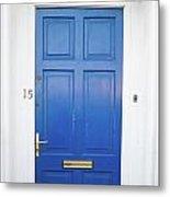 Door In Ireland 4 Metal Print
