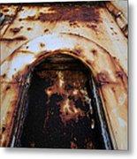 Door Of Rust Metal Print