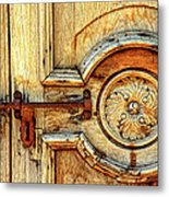 Door Study Taos New Mexico Metal Print