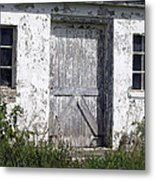 Door To Barn Metal Print