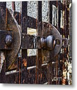 Door To Death Row Metal Print