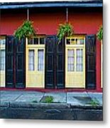 Doors And Shutters Metal Print