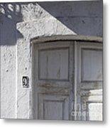 Doors Number 9 Metal Print