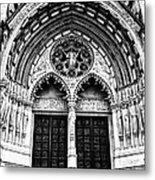 Doors To Saint John The Divine Metal Print