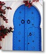 Doorway In Tunisia 1 Metal Print