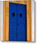 Doorway In Tunisia 2 Metal Print