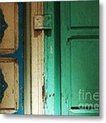 Doorway In Tunisia 4 Metal Print