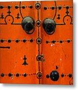 Doorway In Tunisia 6 Metal Print