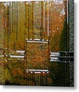 Doorway To Autumn Metal Print