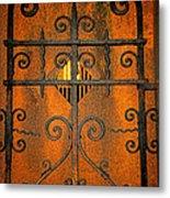 Doorway To Death Metal Print by Paul Ward